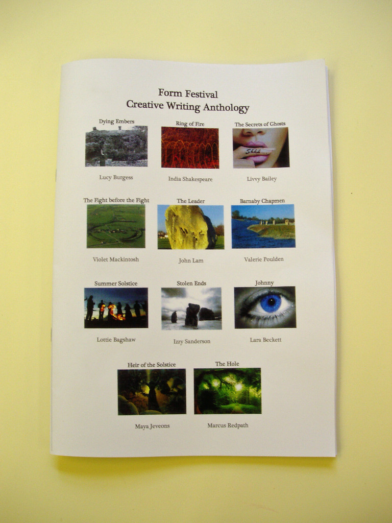 Marlborough College - Form Festival Creative Writng Anthology