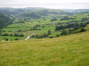 River Teme valley, Knighton